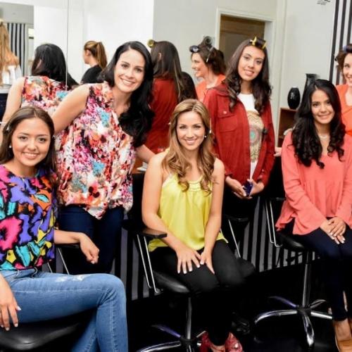 Las candidatas a Reina Nacional del Sol pasaron por la peluquería y realizaron la producción de fotos oficiales