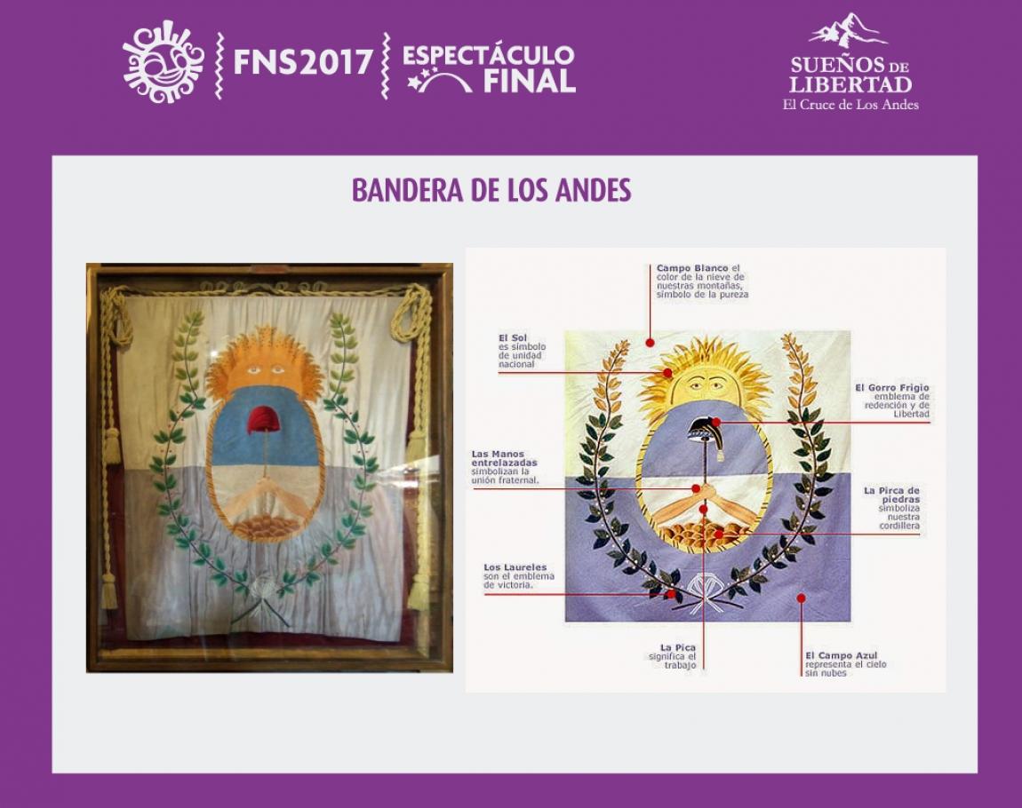 Creación de la Bandera de Los Andes